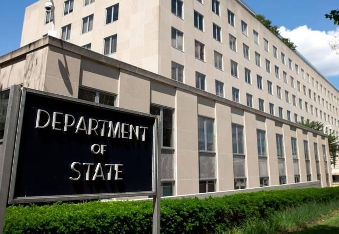 国務省:合衆国は過激派によって統制されているシリアの一部の外交的な承認を求めない