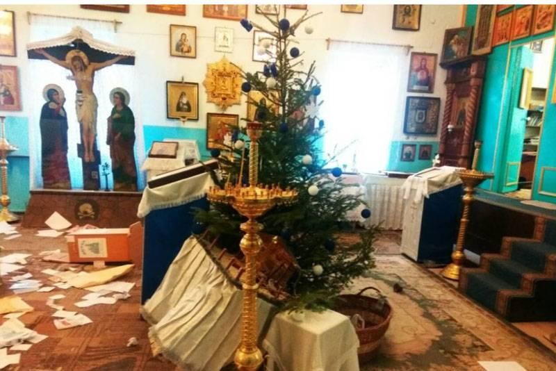 Серия нападений на православные храмы в Одесской области