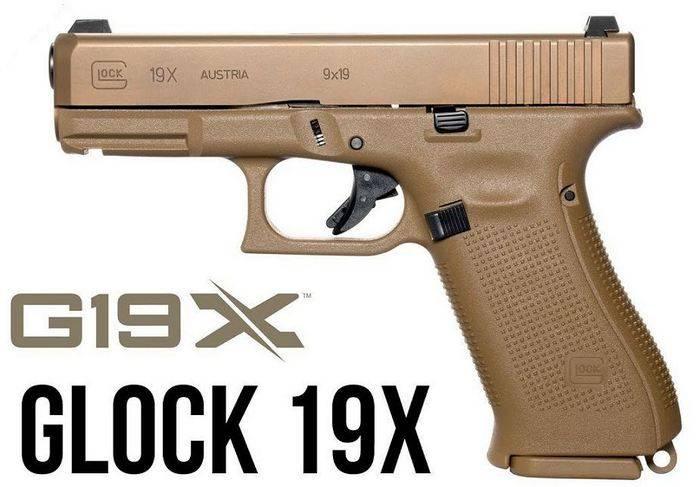 Glock introduziu um novo modelo de arma