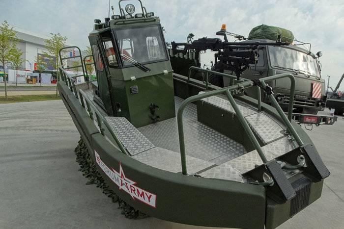 Новейшие катера поступают на вооружение инженерных подразделений ВС РФ