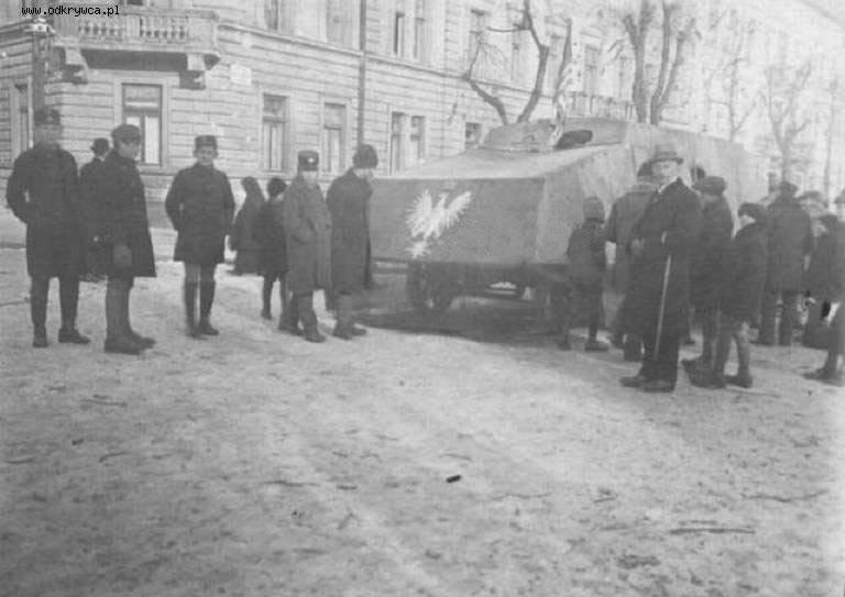 Tank blindé Piłsudskiego (Pologne)