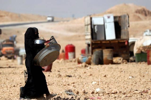 Na SAR, a Jordânia suspeita de planos para transferir armas para os militantes sob o disfarce de gkkonvoya