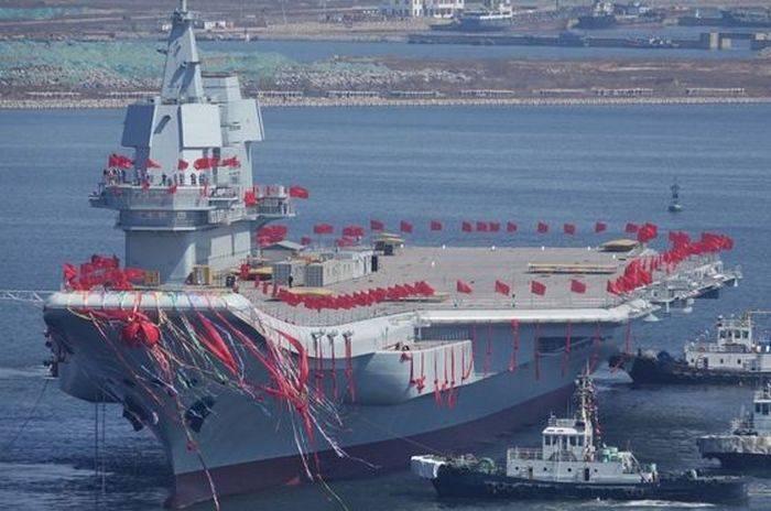 चीन दूसरे विमानवाहक पोत का समुद्री परीक्षण करने की तैयारी कर रहा है