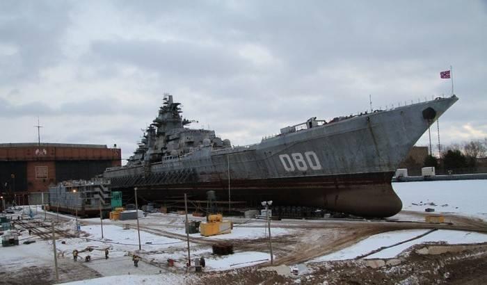"""Sur Sevmash a parlé de la modernisation du croiseur """"Amiral Nakhimov"""""""