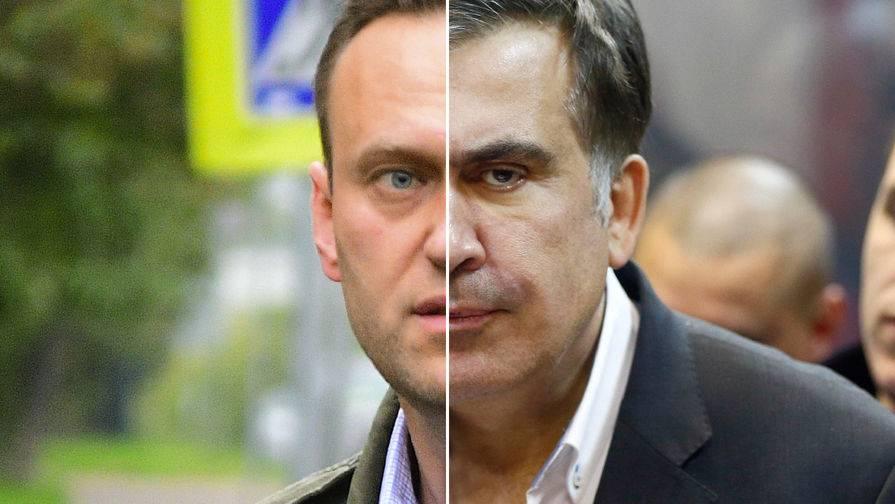 대량 및 Saakashvili : 너무 다른 외부, 너무 비슷한 내부