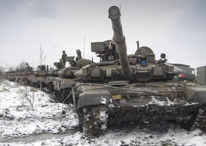 Die Taman Division rüstete sich mit verbesserten Panzern auf