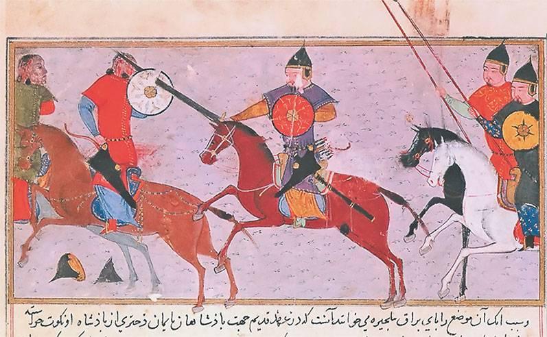 Armes et armures des guerriers mongols (deuxième partie)