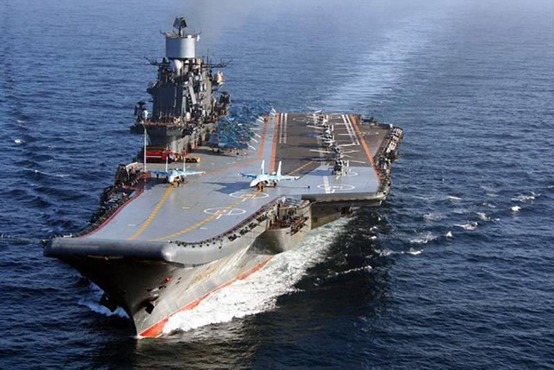 """黒海造船所:"""" Tbilisi""""  - """"提督クズネツォフ""""、大型航空機搭載巡洋艦の完成とサービス"""