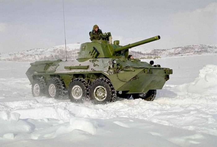 "New self-propelled guns ""Nona-SVK"" entered the motorized rifle brigade of the Central Military District"