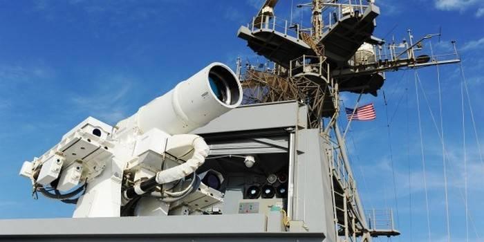 美国海军将体验新一代战斗激光