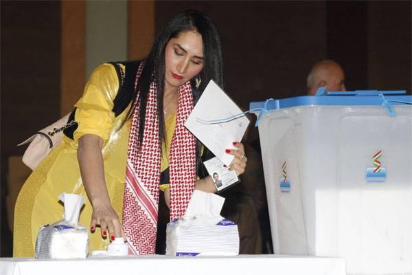 바그다드는 쿠르디스탄에서 국민 투표 결과를 취소하고 석유 환급을 요구했다.