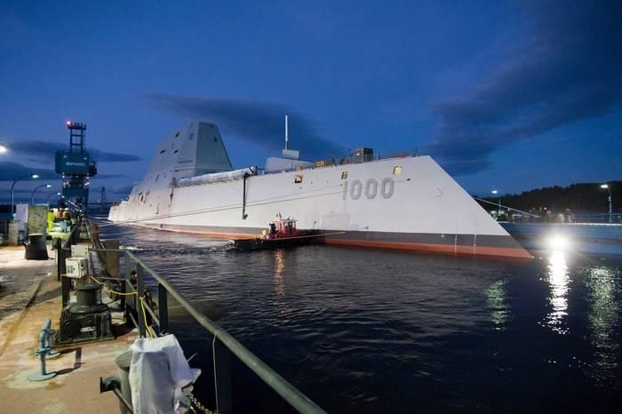 """ВМС США не будут закупать новые боеприпасы для эсминцев """"Замволт"""""""