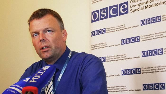 ОБСЕ: Перемирие вДонбассе закончилось