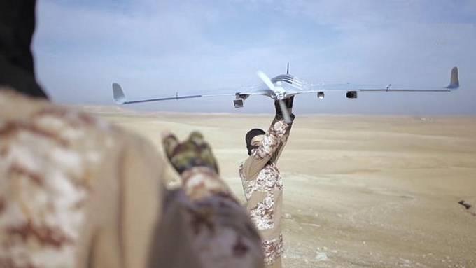 Merkmale der Verwendung von kommerziellen Drohnen durch ISIS-Terroristen
