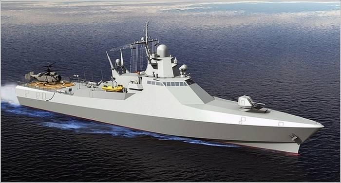"""在Ta斯坦共和国的造船厂放置了护卫舰""""尼古拉·西皮亚金"""""""
