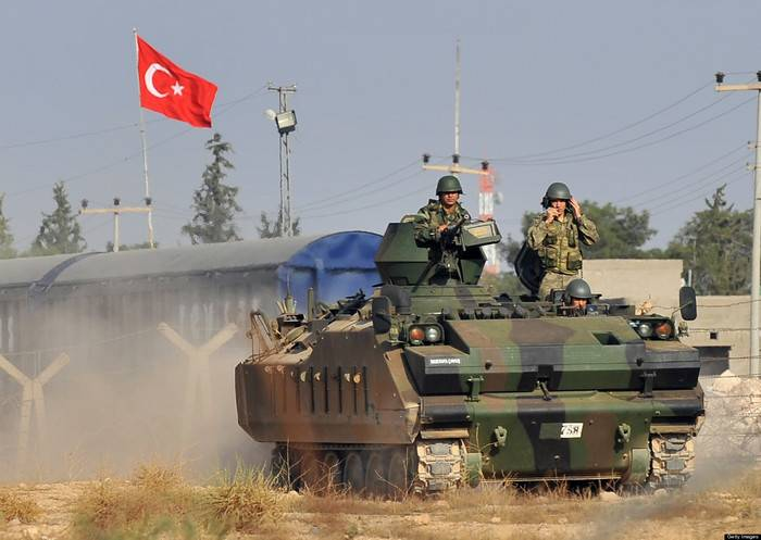 Media: Turkish Armed Forces opened fire on Kurdish positions in Syria