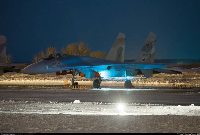 Two more modernized Su-27CM (3)