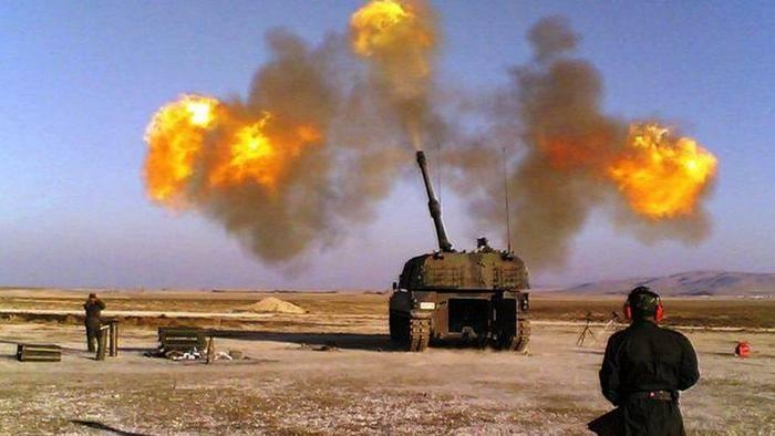 トルコ軍が再びアフリン地域のシリアのクルド人を攻撃した