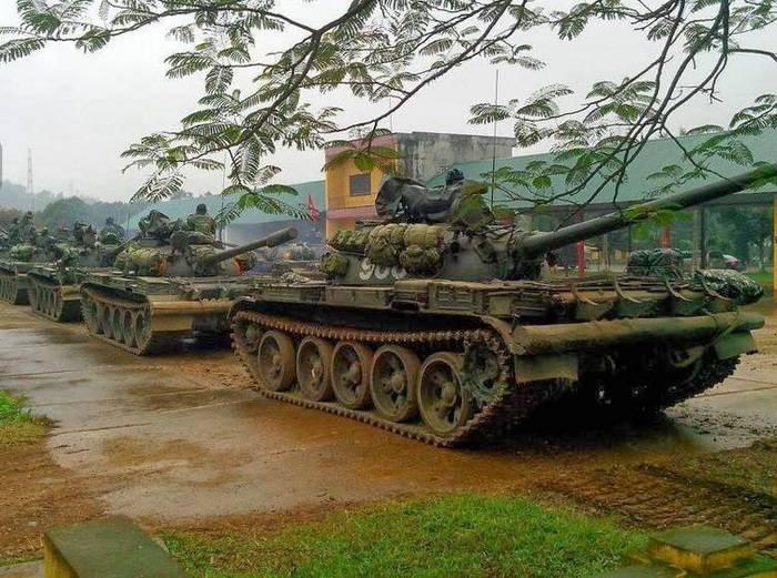Вьетнам модернизирует Т-54\55