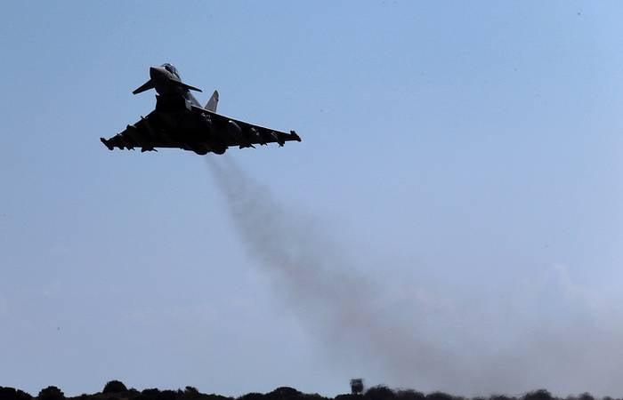 Минобороны Великобритании сообщило о перехвате российских самолётов