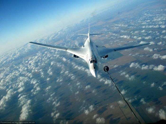 Das Verteidigungsministerium kommentierte den Flug der Tu-160 in der Nähe der NATO-Staaten