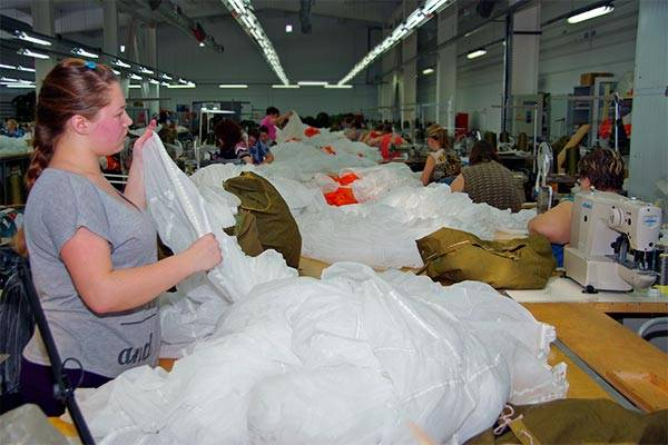In Ivanovo, will begin mass production of parachutes new generation