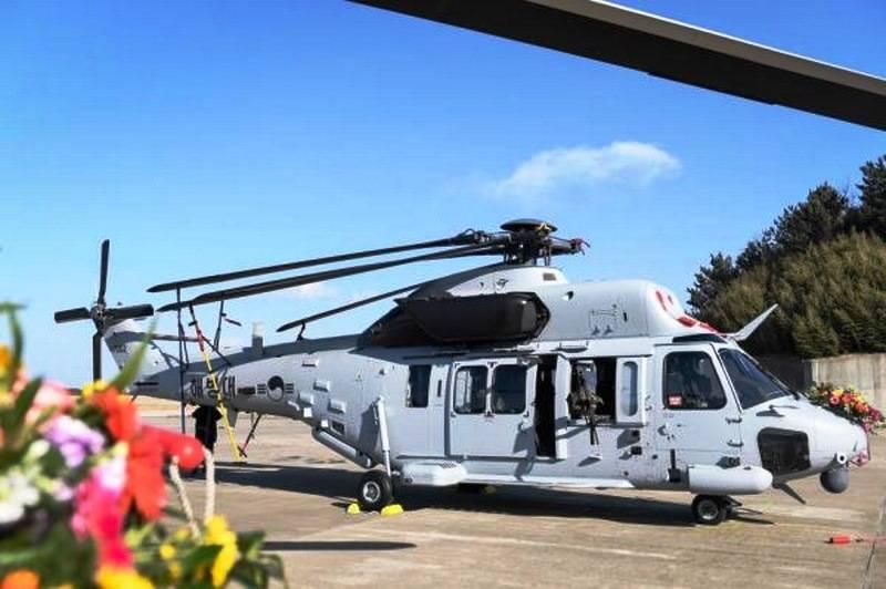 दक्षिण कोरियाई मरीन को पहला रूसी निर्मित हेलीकॉप्टर प्राप्त हुआ