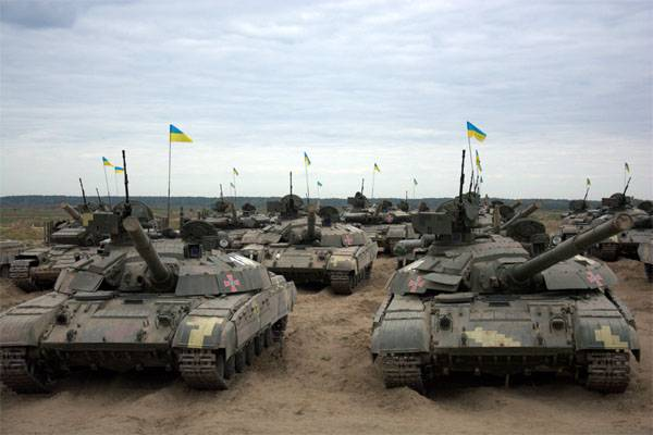 APU tankers in the ATO zone passed an exam on offensive combat