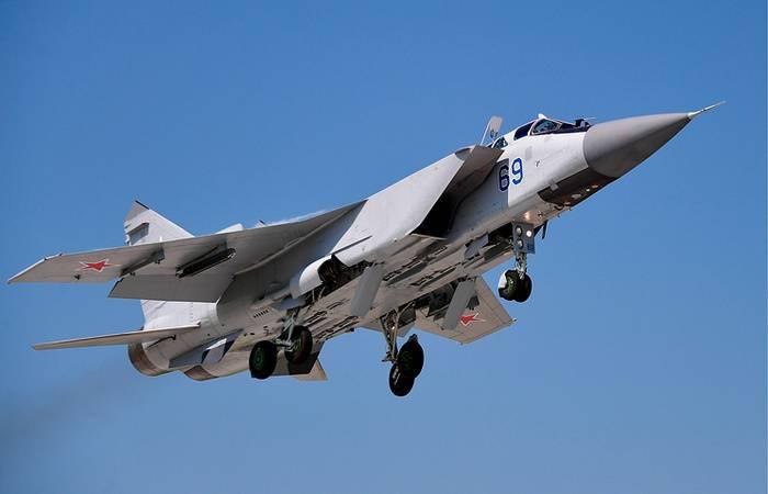 Modernisierte Abfangjäger MiG-31BM wurden für die Piloten des Central Military District in Dienst gestellt.