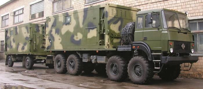 Les topographes militaires du district militaire du Sud ont reçu un nouveau système topographique numérique mobile Volynets