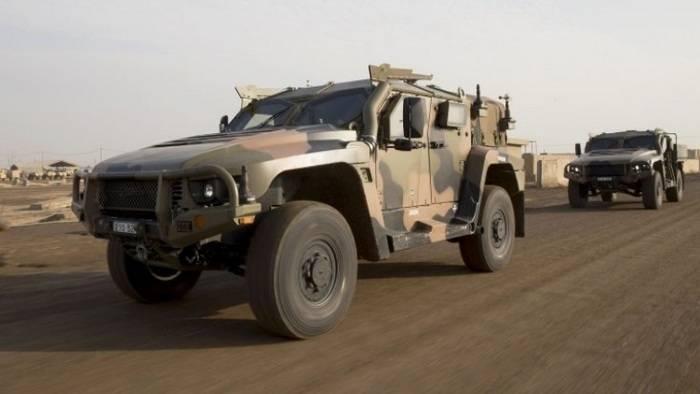 澳大利亚将继续在伊拉克测试Hawkei越野车