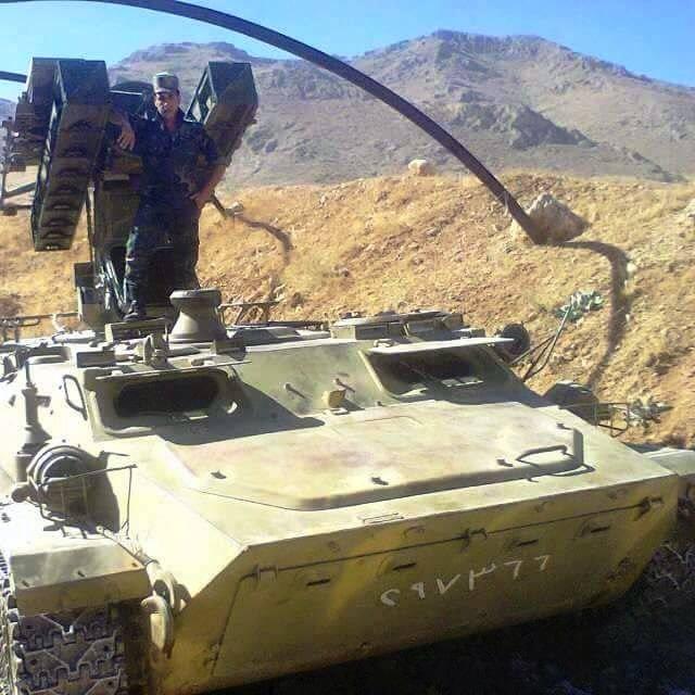 Os complexos Strela-10 continuam a servir no exército sírio
