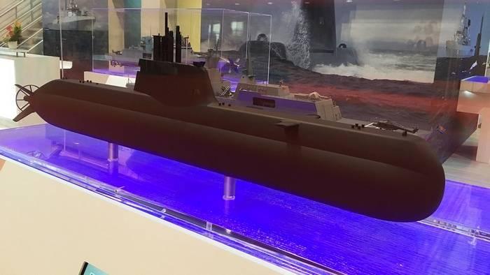 Singapur ha ordenado la construcción de dos submarinos más, como 218SG en Alemania.
