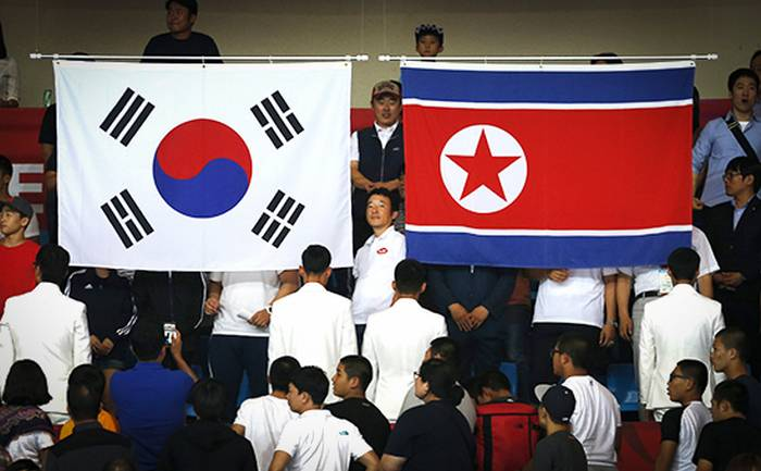 South Korean and DPRK teams at the opening ceremony of the OI-2018 will be held together