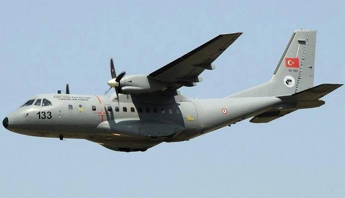 トルコで墜落した軍用輸送機