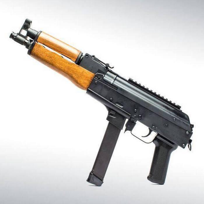 En los Estados Unidos cruzaron AK y Glock.
