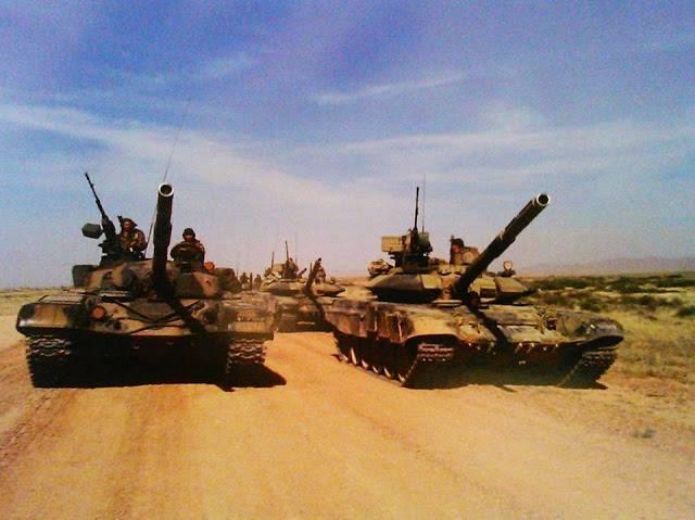 알제리는 러시아 탱크가 세계 최고의 탱크라고 생각합니다.