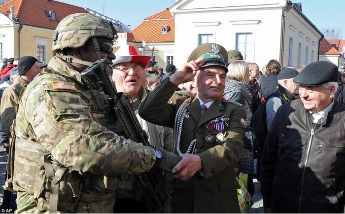 In Poland, they hope to increase the US military contingent in the country