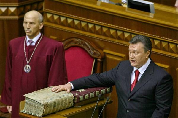 Янукович намерен вернуться на Украину