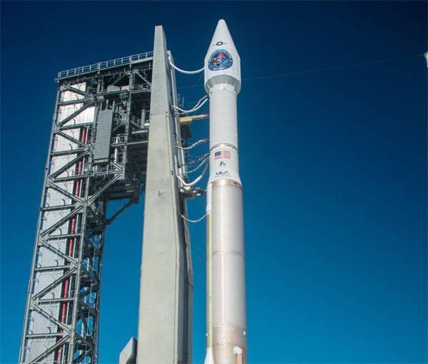 Aux États-Unis a reporté le lancement d'Atlas V PH avec le satellite militaire GEO-4