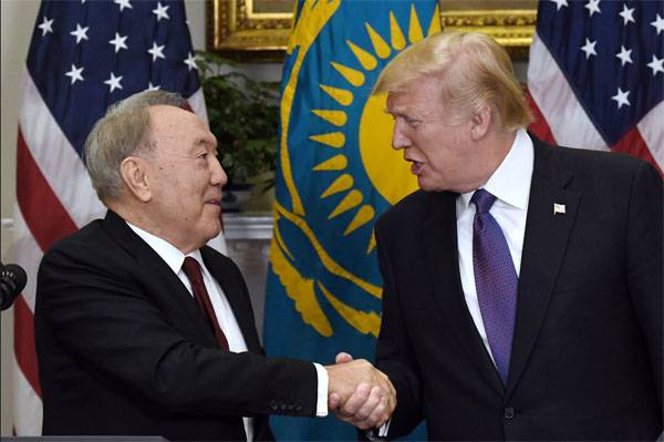 Nazarbayev told what Trump said in the Donbas