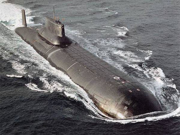 Media: Russia utilizes the world's largest submarines of the 941 Shark project