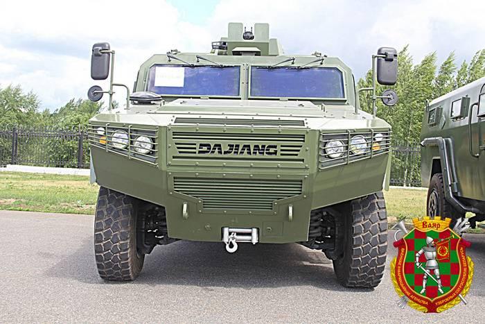 La Bielorussia ha ricevuto un nuovo lotto di auto blindate cinesi