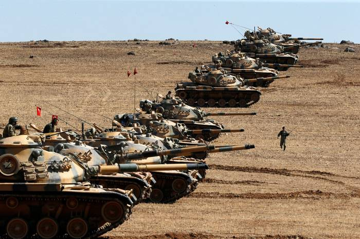 Media: Russian troops will leave Afrin before the advance of the Turks