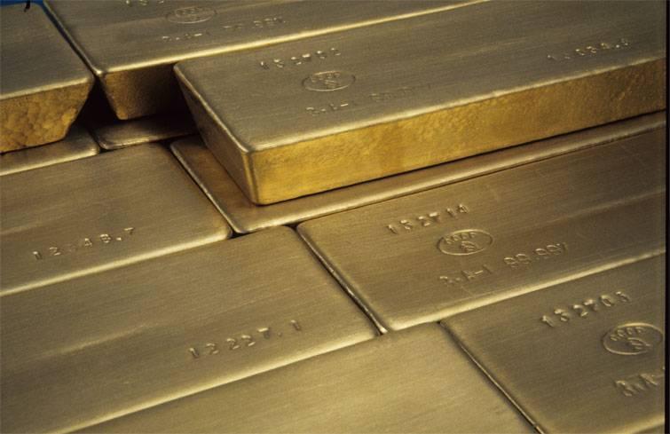 Kıç: Almanya, Rusya'dan daha fazla altın rezervine sahip. Ama onlar ABD'de ...