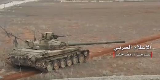 """Syrian tanks with """"electronic protection"""" from TOW are fighting in Aleppo"""