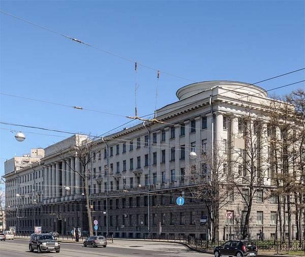 Incendio en la Academia Naval de San Petersburgo