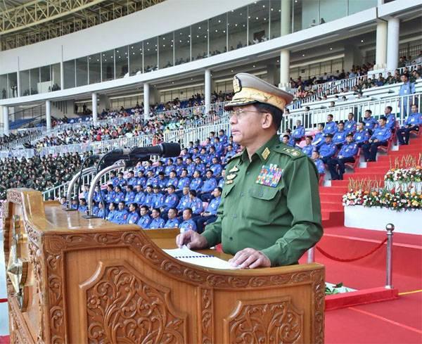 세르게이 쇼이 (Sergey Shoigu)가 미얀마의 한 동료와 동의 한 것은 무엇입니까?