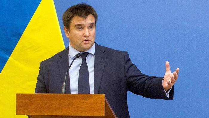 Klimkin linked with Russia an attempt to attack the Embassy of Ukraine in Athens