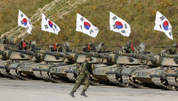 Media: South Korea will reduce the number of army by 2022 thousand by 110 year